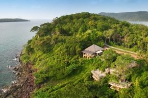Thailand Soneva Kiri - Dining the View