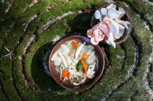 Thailand Soneva Kiri - Mushroom Cave Dining