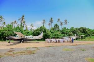 Thailand Soneva Kiri - Plane