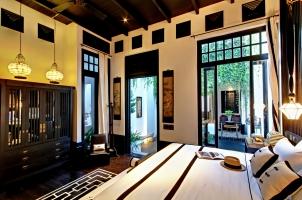 Thailand The Siam Bangkok - Chinese Villa Bedroom