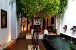 Thailand The Siam Bangkok - Chinese Villa Courtyard