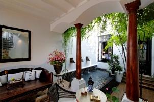 Thailand The Siam Bangkok - Chinese Villa Entrance