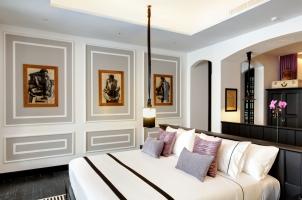 Thailand The Siam Bangkok - Maenam Suite Bedroom