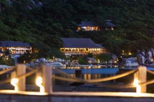 Six Senses Ning Van Bay - Resort View from Jetty
