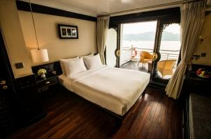 Vietnam The Au Co Cruise - Long Quan Suite Bedroom