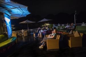 Vietnam The Au Co Cruise - Movie night