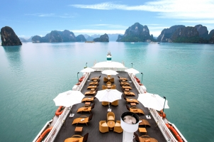Vietnam The Au Co Cruise - Sundeck