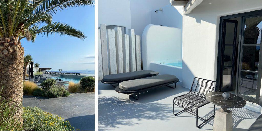 OMMA Santorini - Villa Outside