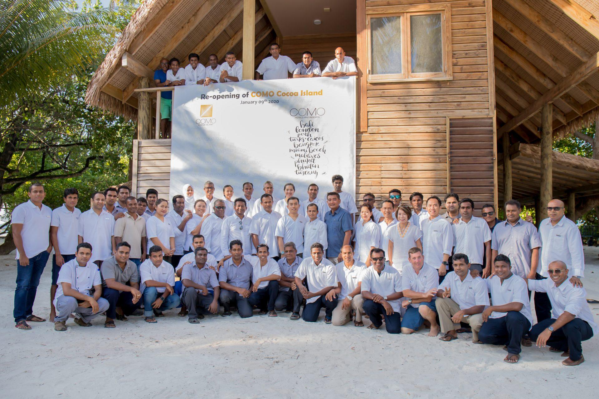 COMO Cocoa Island Employees