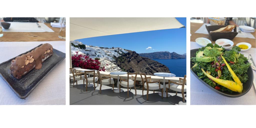Mystique Hotel Santorini Lunchtime