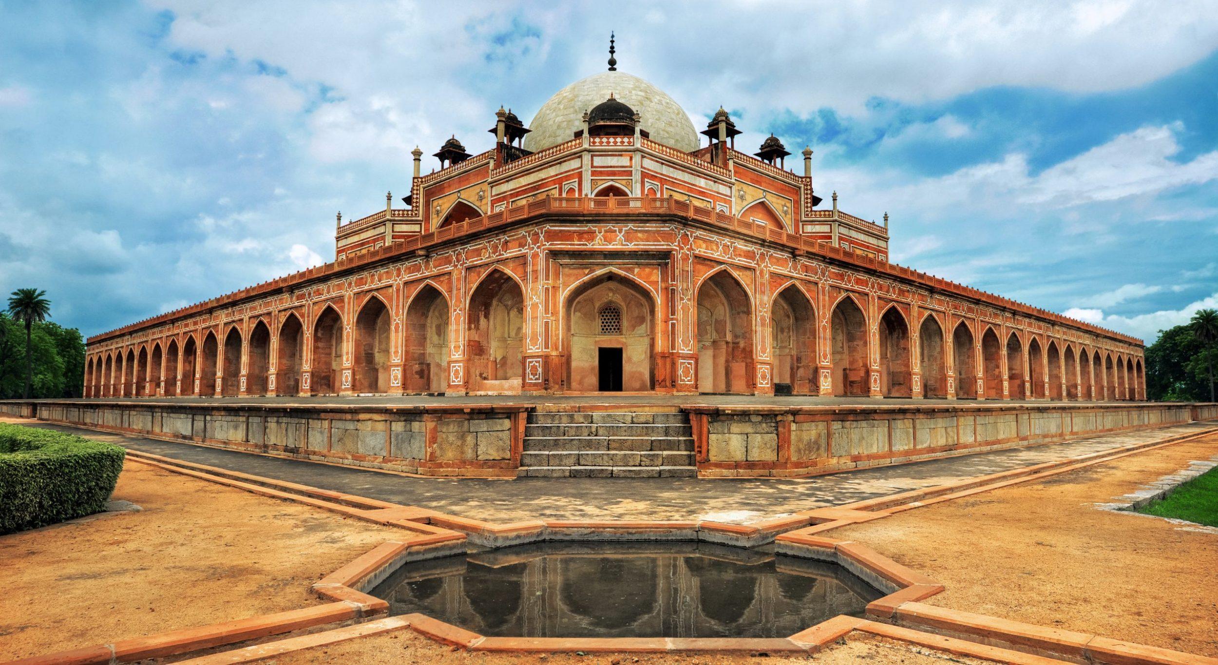India - Humayun Great Mogul Mausoleum