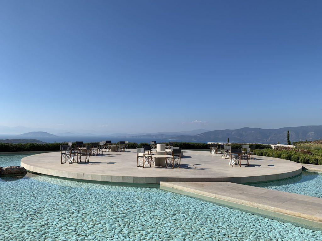 Griechenland - Amanzoe - Terrace