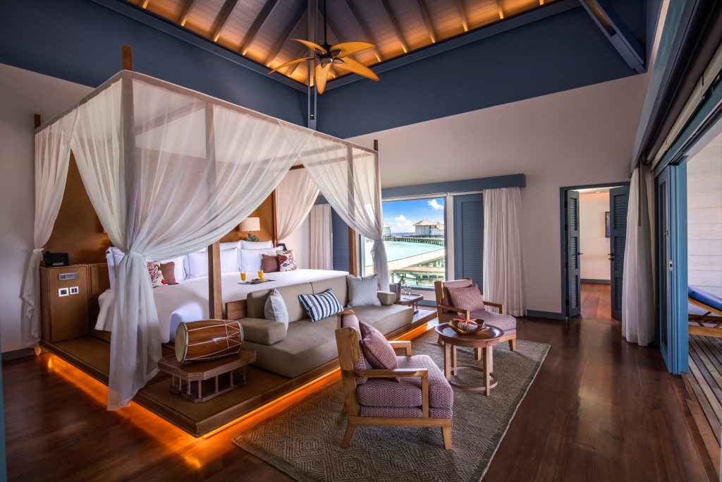 Raffles Maldives - Overwater Bedroom
