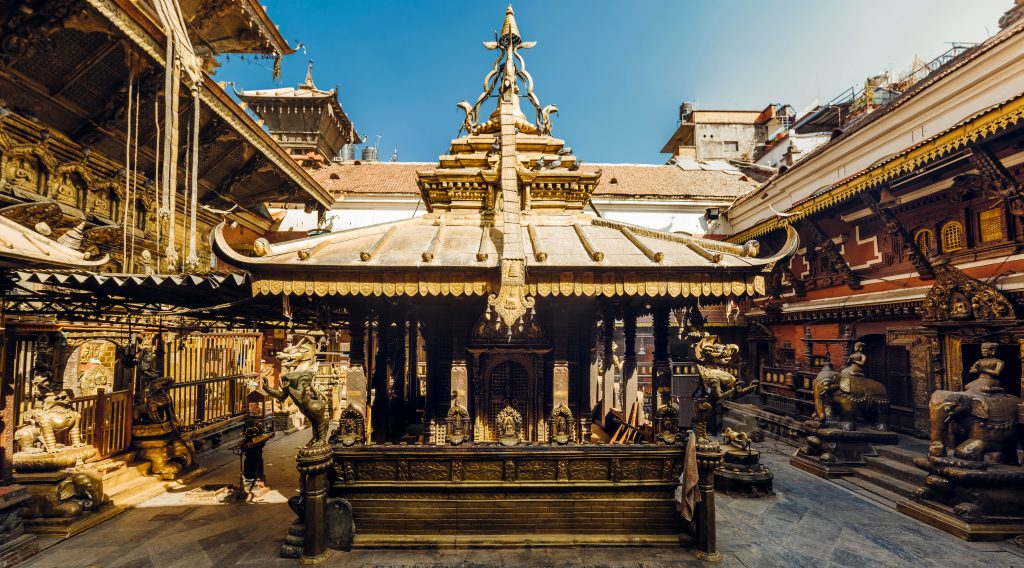 Nepal - golden temple in patan