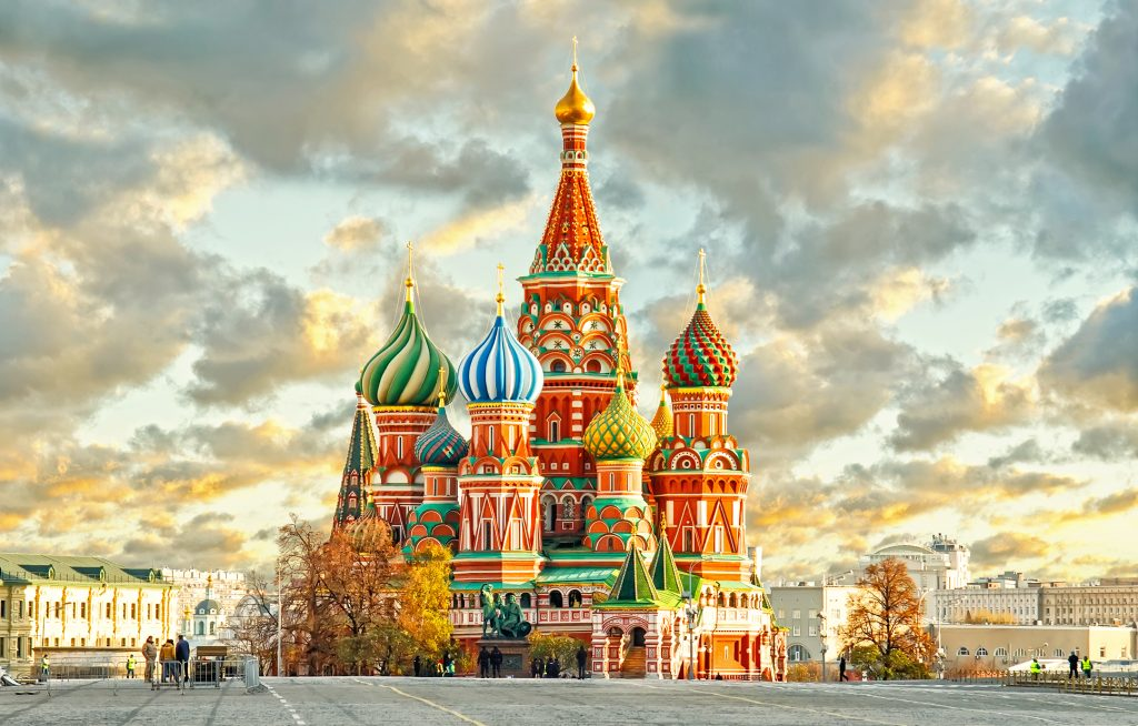 St. Basils Cathedral - Moscow