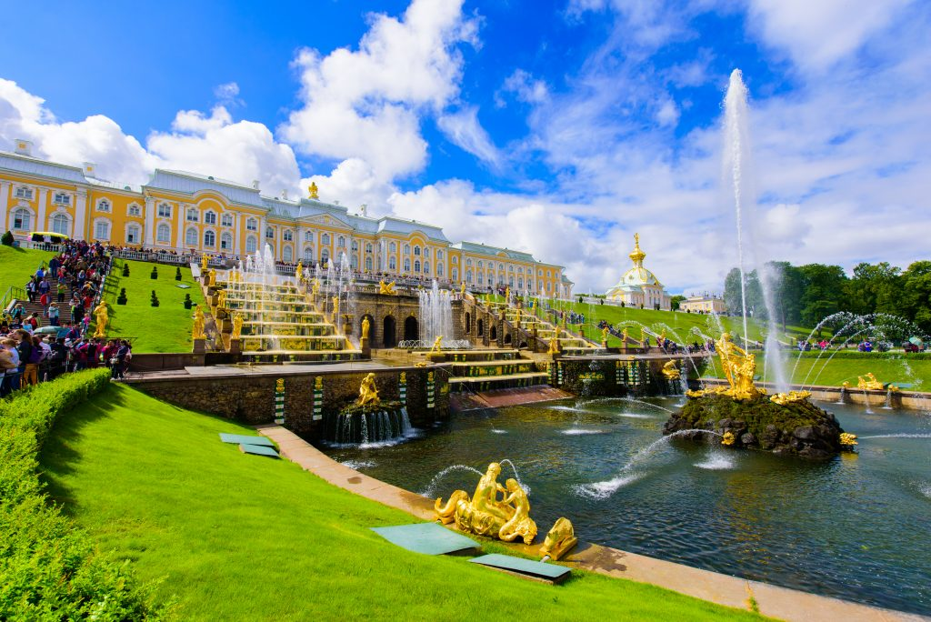 Peterhof Palace at St. Petersburg